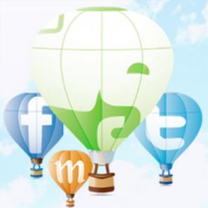 【Android】Evernote、Twitter、Facebook、Mixiに同時投稿できる送信専用アプリ「BridgeEver」