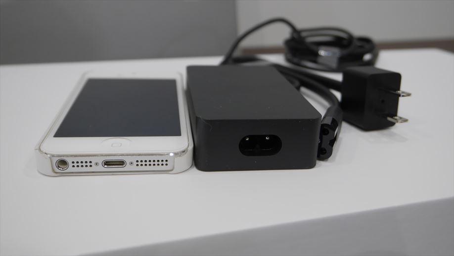 メガネケーブル。iPhone5との比較