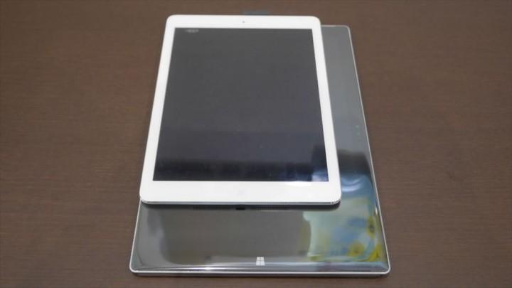 Surface Pro 3とiPad Airの比較