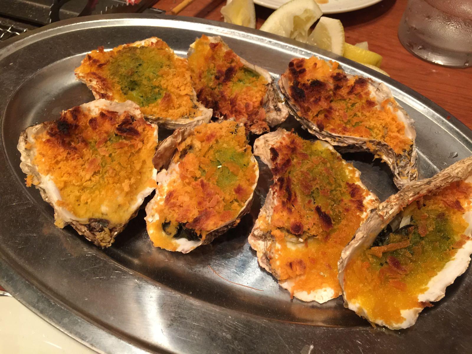 牡蠣のガーリッグバター