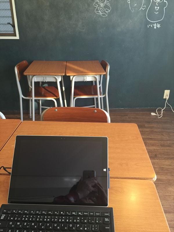 黒板も使えるコワーキングスペース!