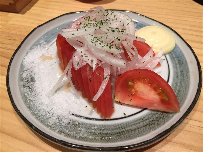 冷やしトマト。