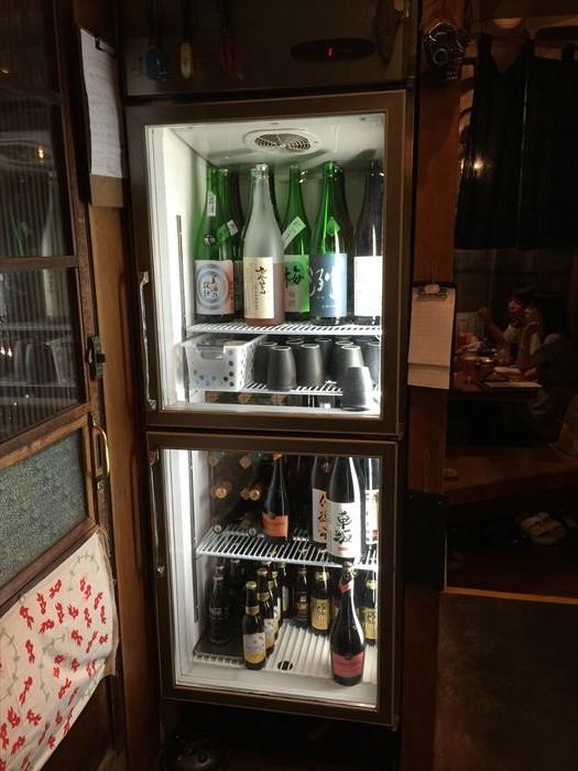 日本酒はこんな風にありました。