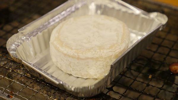 カマンベールチーズも焼いちゃう!