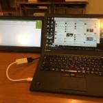 モバイル液晶「On-Lap 1101P」でThinkpad X250にぴったりすぎる2画面環境!