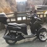125ccの前2輪スクーター「トリシティ(TRICITY)」に乗って奥多摩ツーリングに行ってきました #TRICITY #トリシティ #ヤマハ