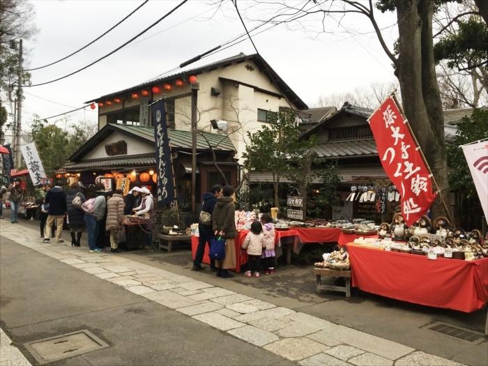 門前のお店