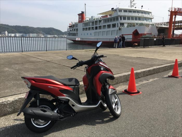 東京湾フェリーとトリシティ