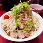 二郎系なのにさっぱりしているがっつり冷やし中華がとても美味しい!【千里眼】 #いのがしラーメン