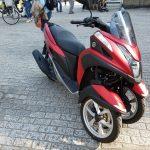 【トリシティ125】高速道路NGなバイクに乗るなら、都内ツーリングで新宿御苑へ!