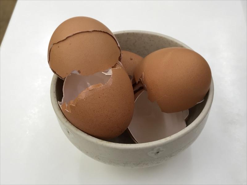卵は5個使った