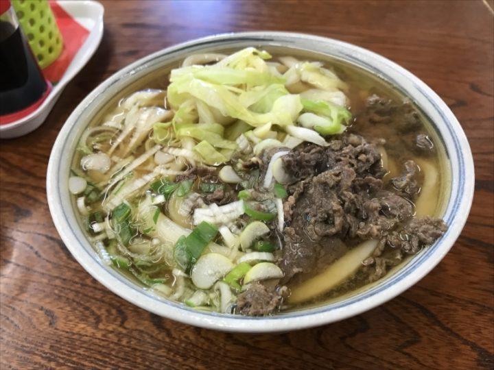 肉うどん(中)