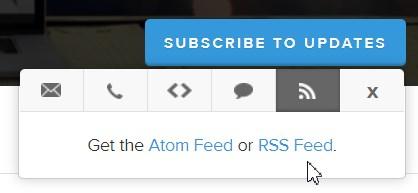 Zoomのステータス通知はRSSでも確認できる