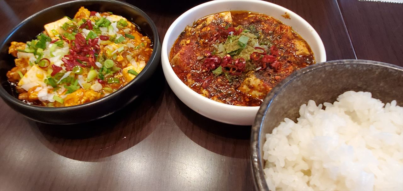 W麻婆豆腐定食